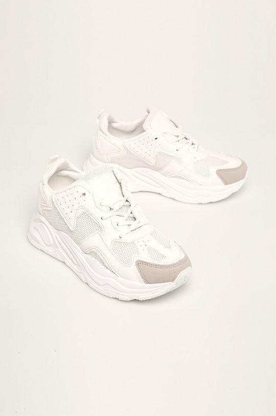 Answear - Pantofi MARQIUZ alb