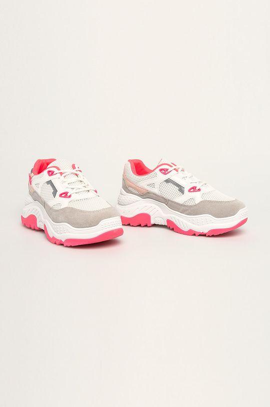 Answear - Pantofi JEEINI alb