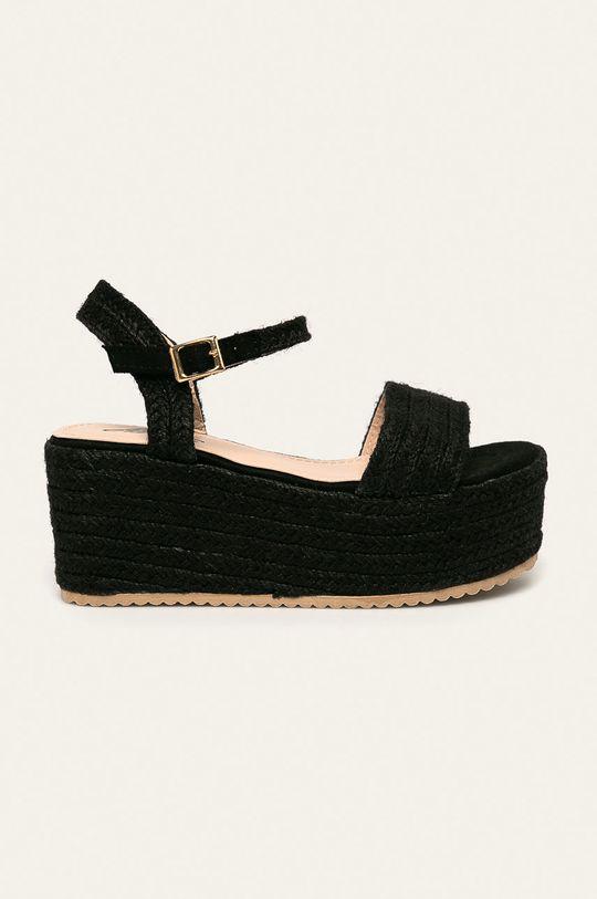 černá Answear - Sandály Mulanka Dámský