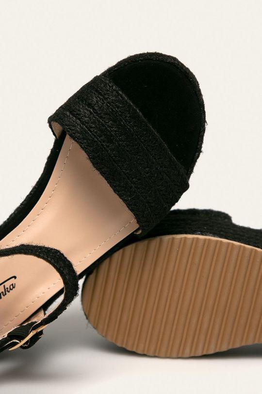 černá Answear - Sandály Mulanka