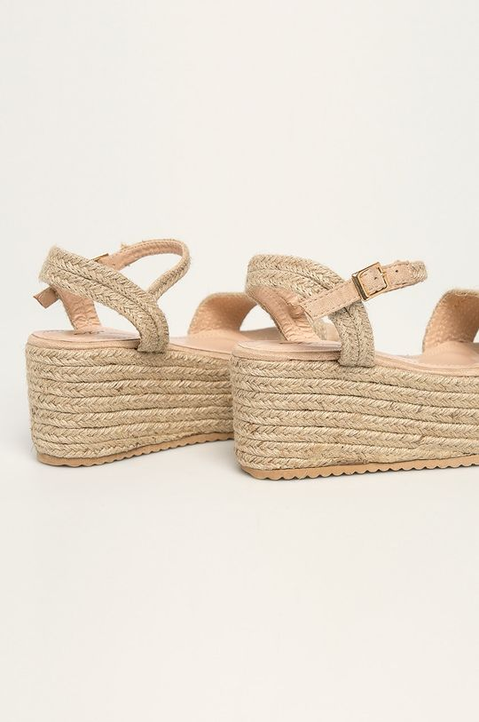 Answear - Sandale Mulanka Gamba: Material textil Interiorul: Material textil, Material sintetic Talpa: Material sintetic