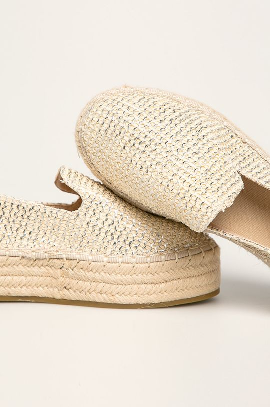 Answear - Espadrile Coura Gamba: Material textil Talpa: Material sintetic Introduceti: Material sintetic