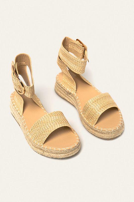 Answear - Sandale Buanarotti crem