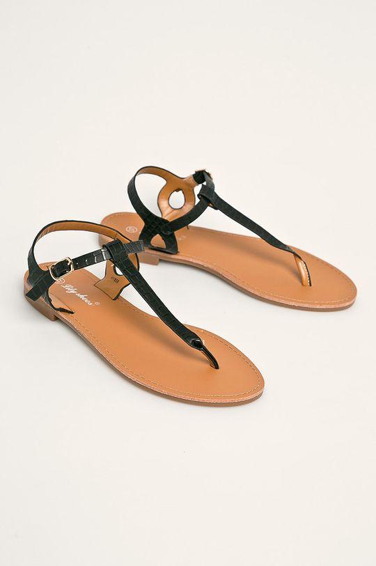 Answear - Sandále Lily Shoes čierna