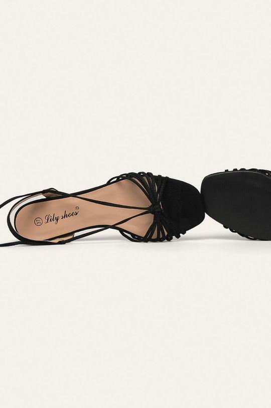 negru Answear - Sandale Lily Shoes