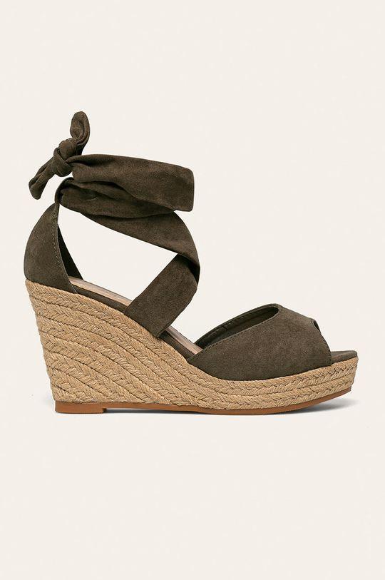 verde Answear - Espadrile Lily Shoes De femei