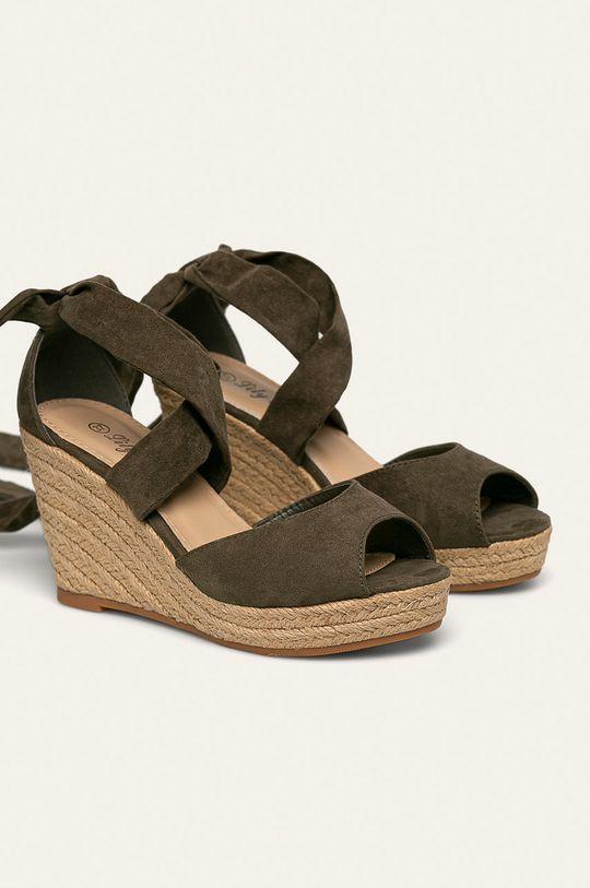 Answear - Espadrile Lily Shoes verde