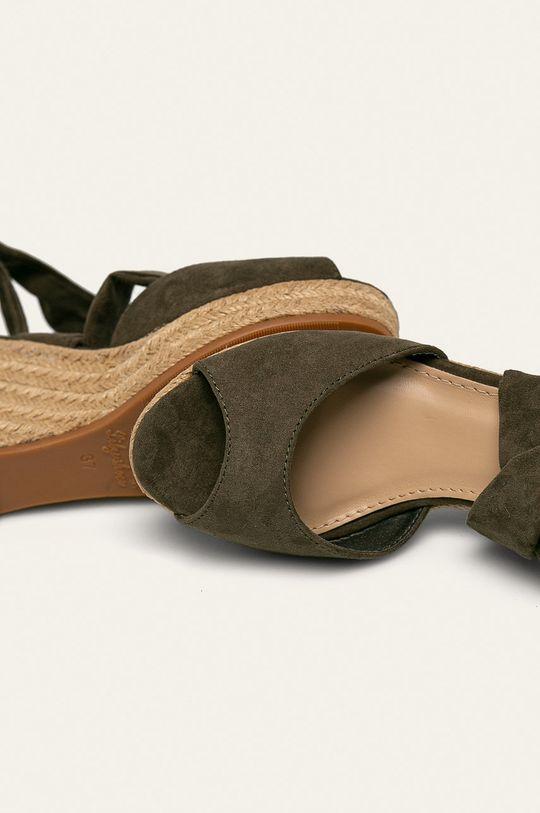 verde Answear - Espadrile Lily Shoes