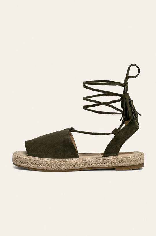 Answear - Espadrile Bestelle Gamba: Material textil Interiorul: Material sintetic, Material textil Talpa: Material sintetic