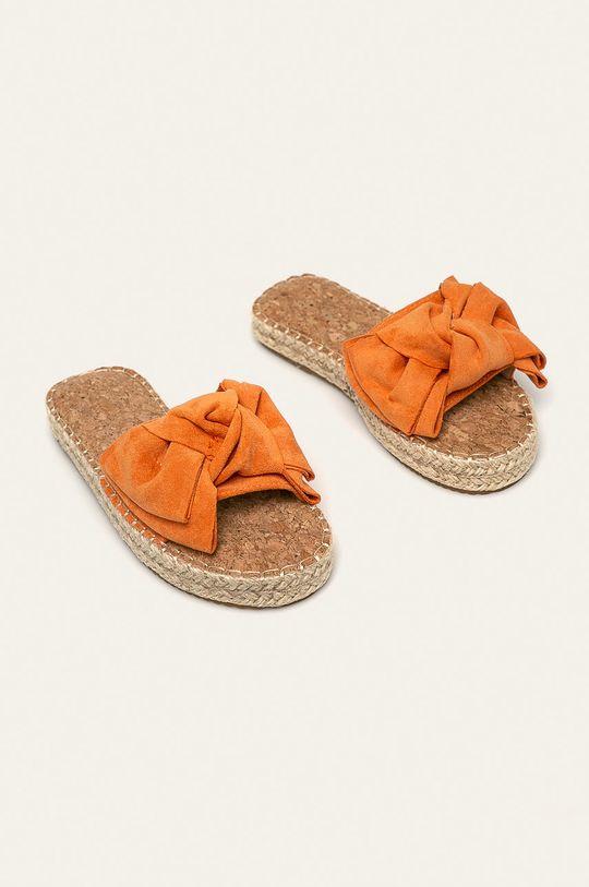 Answear - Papuci Erynn portocaliu