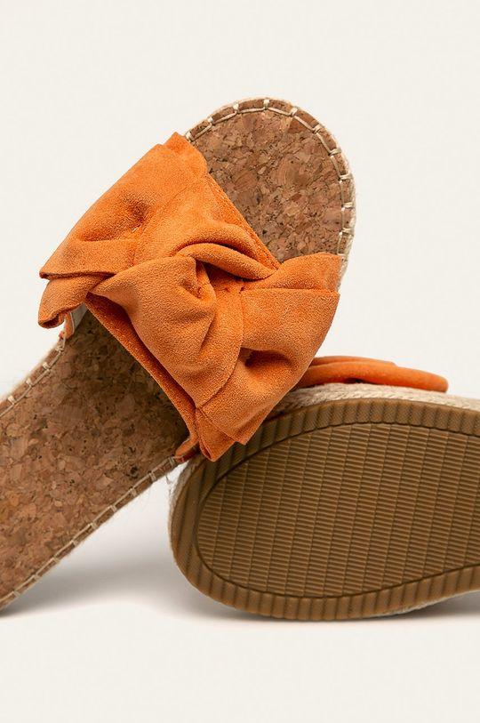 portocaliu Answear - Papuci Erynn