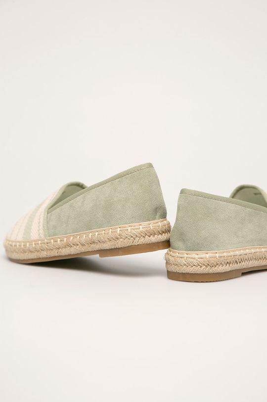 Answear - Espadrile Gamba: Material textil Interiorul: Material textil, Material sintetic Talpa: Material sintetic