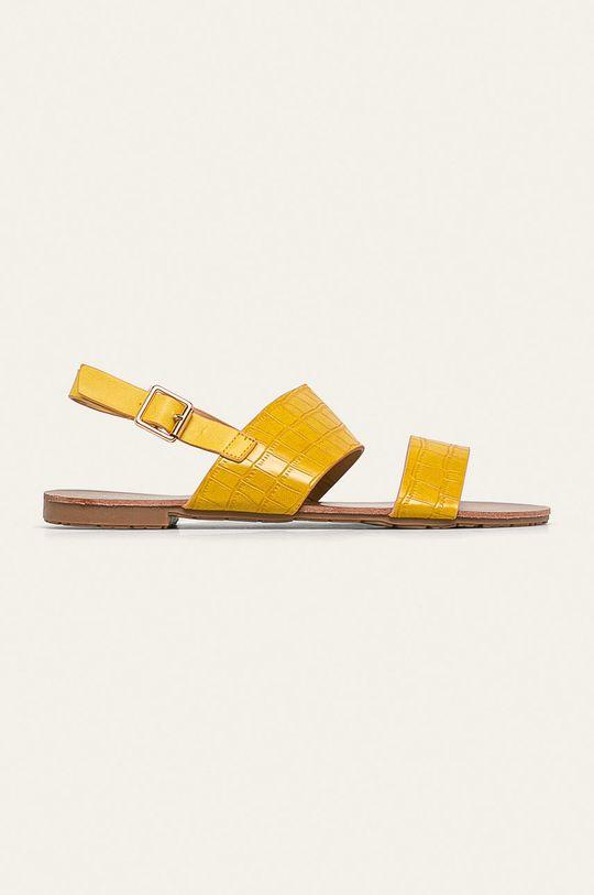 žltá Answear - Sandále Diamantique Dámsky