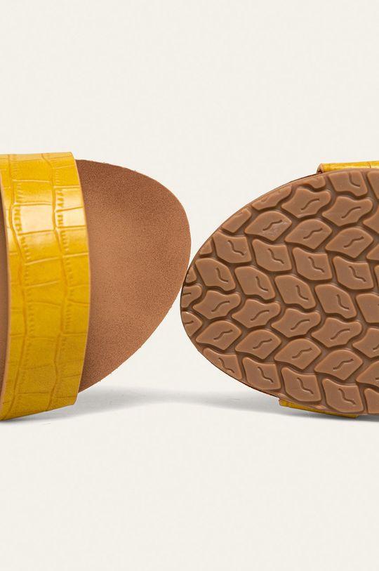 žltá Answear - Sandále Diamantique