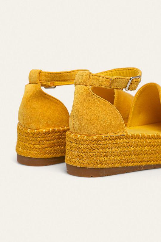 Answear - Espadrile Vera Blum Gamba: Material textil Interiorul: Material textil Talpa: Material sintetic