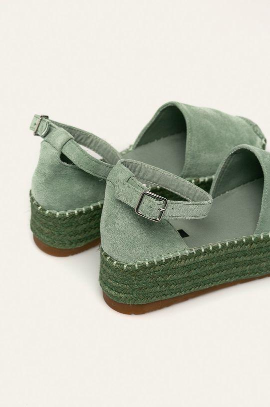 zelená Answear - Espadrilky Vera Blum