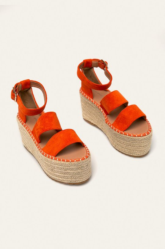 Answear - Sandale Ideal Shoes portocaliu