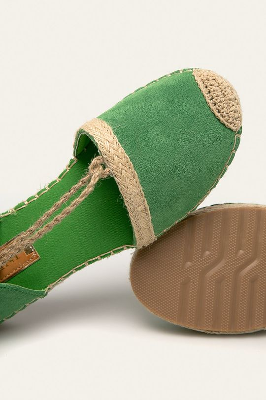 zelená Answear - Espadrilky Jeeini