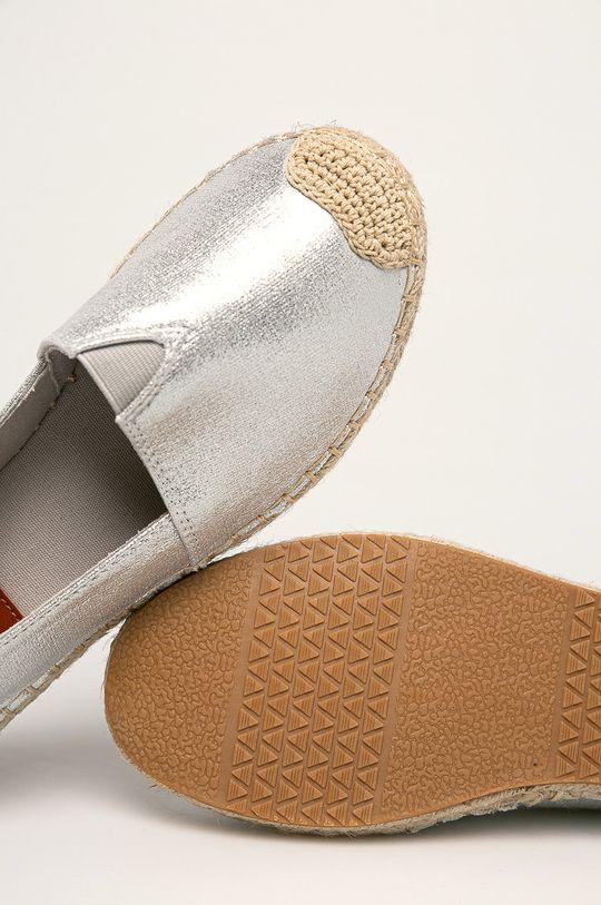 argintiu Answear - Espadrile Moda