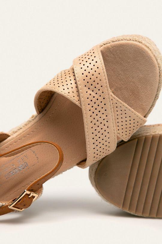 béžová Answear - Sandále Woman Key