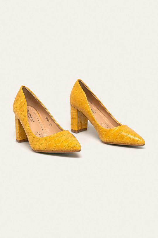 Answear - Lodičky Guapissima žlutá