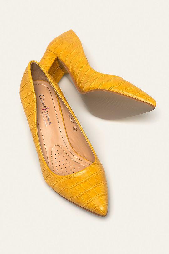 žlutá Answear - Lodičky Guapissima