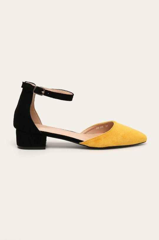 жовтий Answear - Туфлі Primavera Жіночий