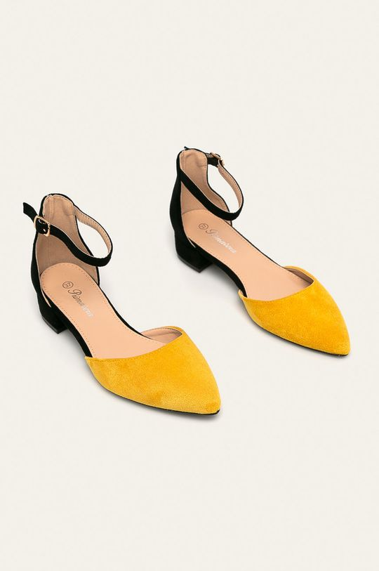 Answear - Туфлі Primavera жовтий