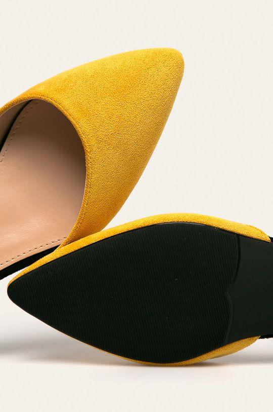 жовтий Answear - Туфлі Primavera