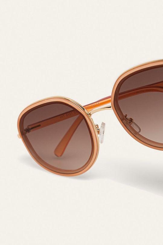 Answear - Slnečné okuliare zlatá