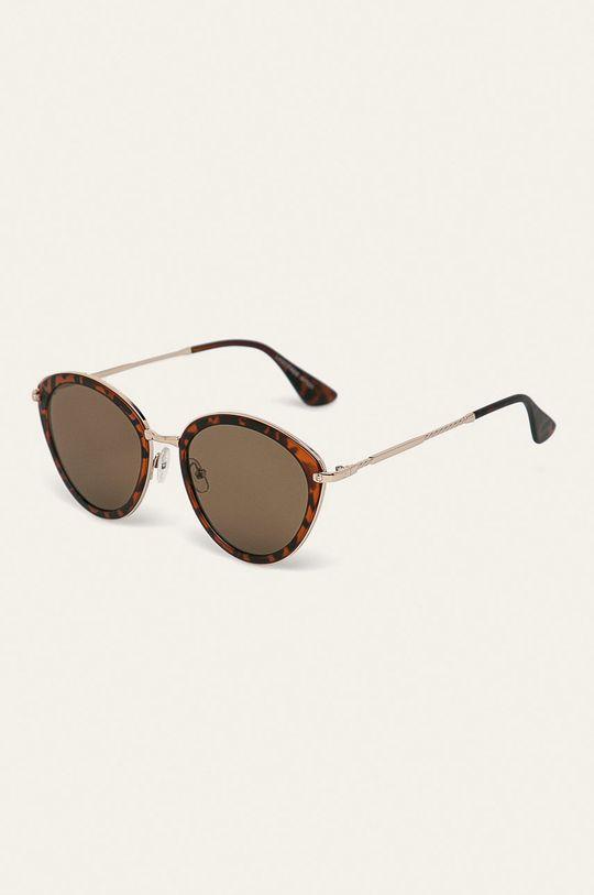złoty brąz Answear - Okulary przeciwsłoneczne Damski