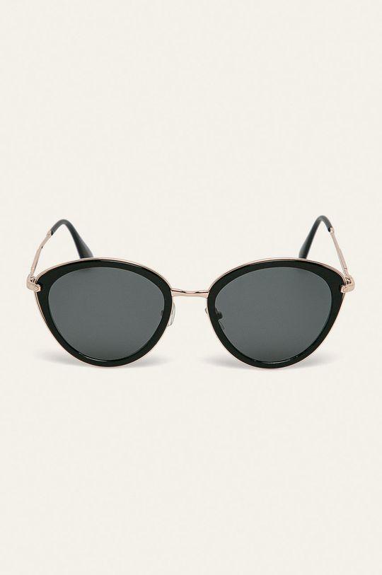 Answear - Okulary przeciwsłoneczne Materiał syntetyczny, Metal