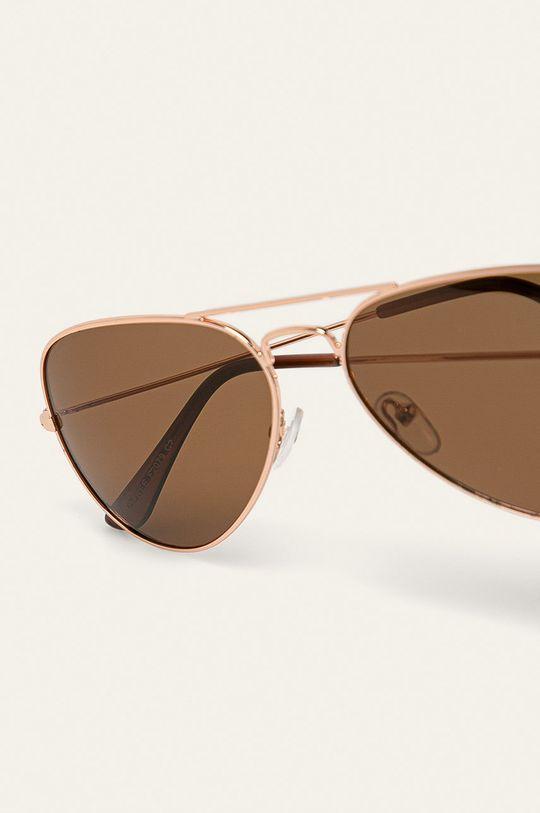 Answear - Okulary Materiał syntetyczny, Metal