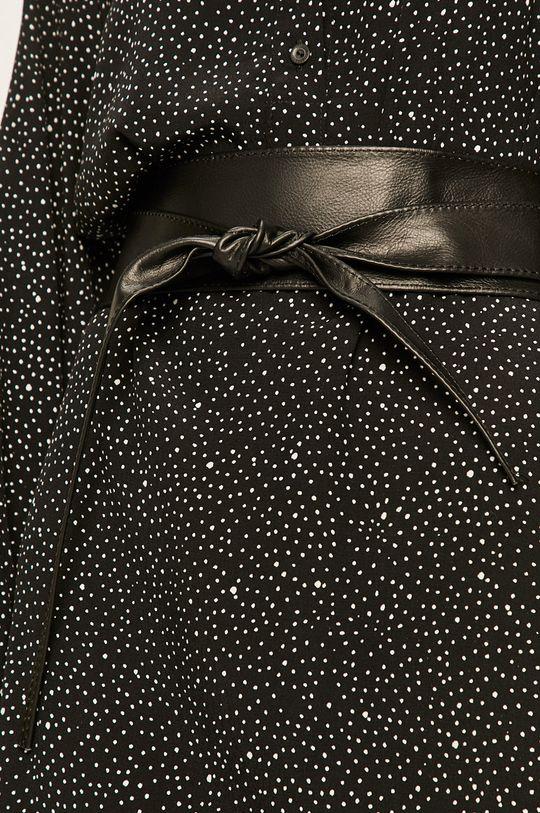 Answear - Curea de piele negru