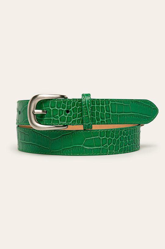 verde Answear - Curea de piele De femei