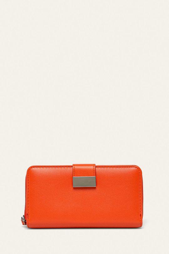 oranžová Answear - Peňaženka Dámsky