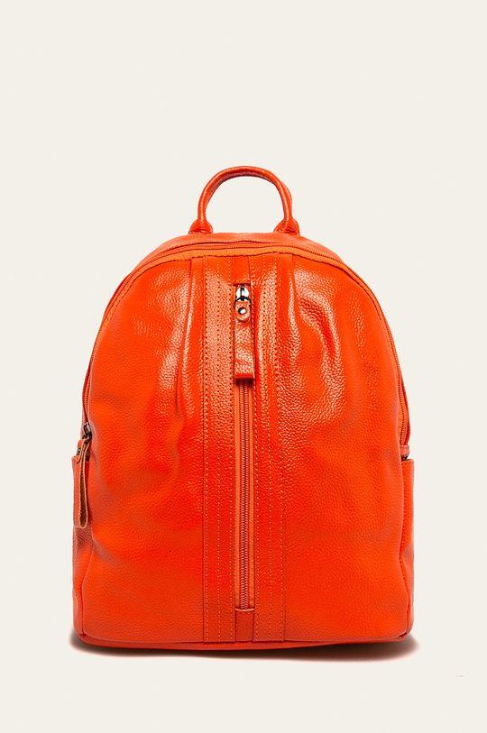 portocaliu Answear - Ghiozdan de piele De femei