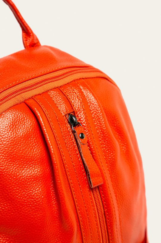 Answear - Ghiozdan de piele portocaliu
