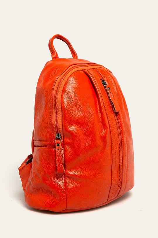 portocaliu Answear - Ghiozdan de piele