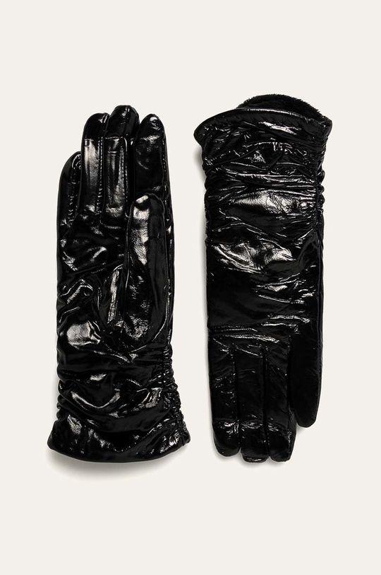 negru Answear - Manusi de piele De femei