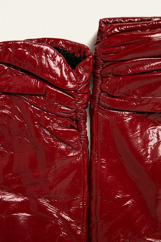 Answear - Manusi de piele rosu