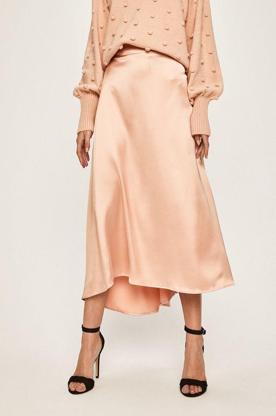 różowy Answear Lab - Spódnica Damski