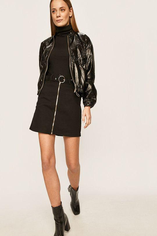 negru Answear - Fusta jeans De femei