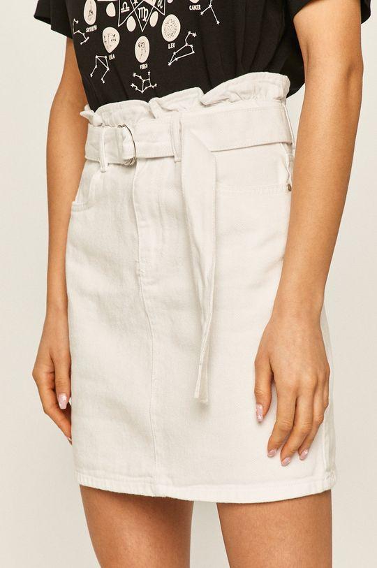 bílá Answear - Džínová sukně Dámský