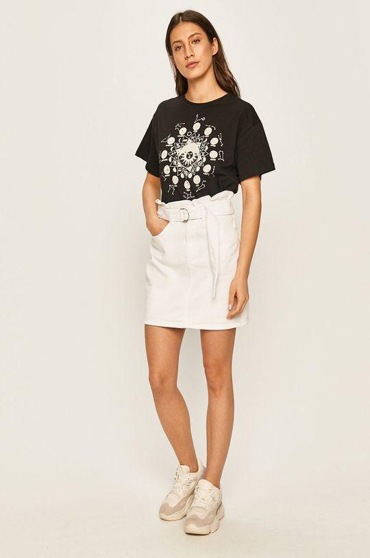 Answear - Džínová sukně bílá