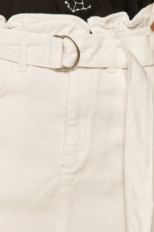 bílá Answear - Džínová sukně