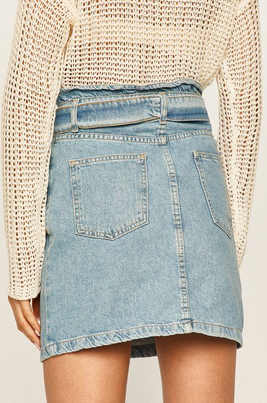 Answear - Rifľová sukňa  100% Bavlna