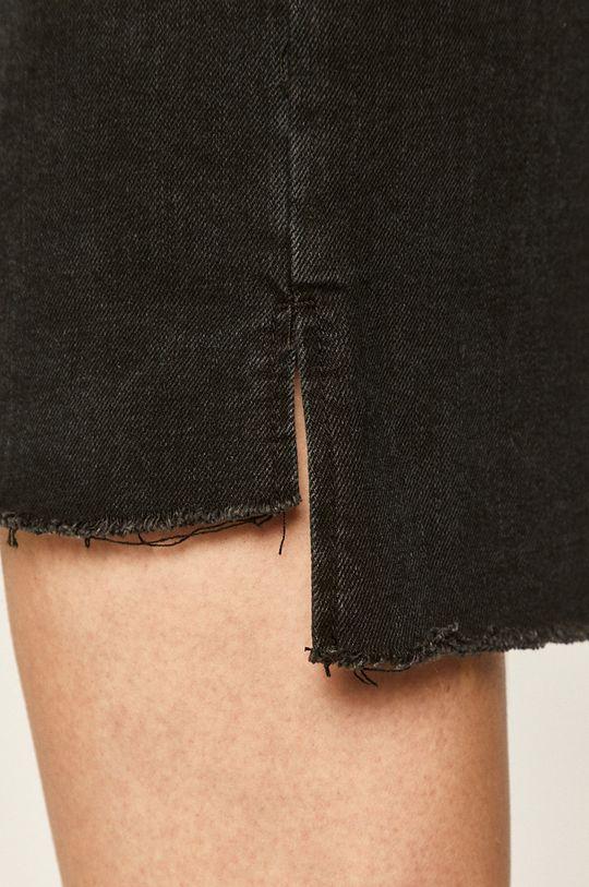 czarny Answear - Spódnica jeansowa