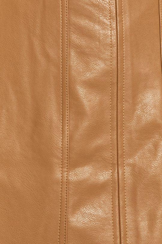 kawowy Answear - Spódnica