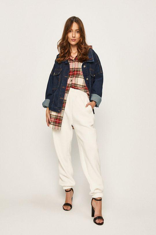 Answear - Pantaloni alb